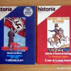 Coleccionismo de Revista Historia 16: HISTORIA 16. Nº 1 Y 2 - BERLÍN: SALVAD A JOSÉ ANTONIO (I Y II). Lote 198509650