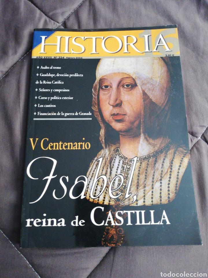 REVISTA HISTORIA 16 - AÑO XXVII - NÚMERO 334 - FEBRERO 2004 (Coleccionismo - Revistas y Periódicos Modernos (a partir de 1.940) - Revista Historia 16)