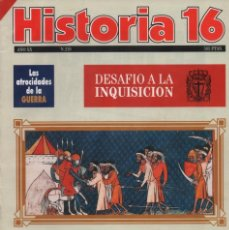 Colecionismo da Revista Historia 16: HISTORIA 16 AÑO XX NUM. 229 MAYO 1995. Lote 202610767
