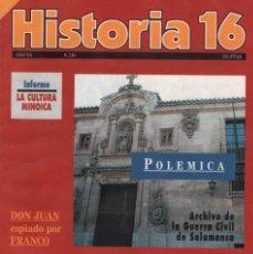 Colecionismo da Revista Historia 16: HISTORIA 16 AÑO XX NUM. 230 JUNIO 1995. Lote 202610838