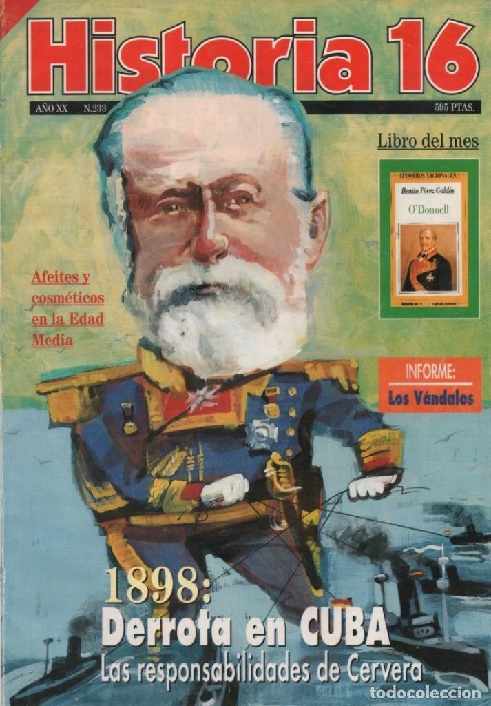 HISTORIA 16 AÑO XX NUM. 233 SEPTIEMBRE 1995 (Coleccionismo - Revistas y Periódicos Modernos (a partir de 1.940) - Revista Historia 16)