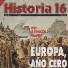Coleccionismo de Revista Historia 16: HISTORIA 16 AÑO XX NUM. 228 ABRIL 1995. Lote 202610703