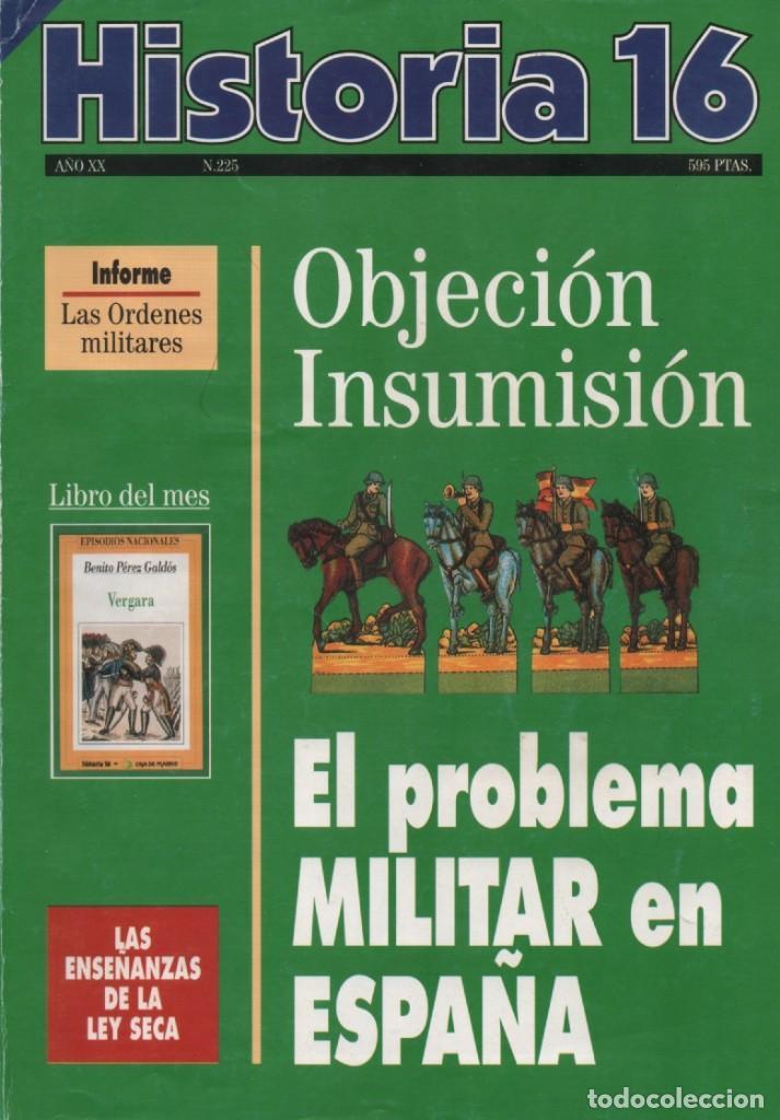 HISTORIA 16 AÑO XX NUM. 225 ENERO 1995 (Coleccionismo - Revistas y Periódicos Modernos (a partir de 1.940) - Revista Historia 16)