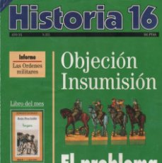 Coleccionismo de Revista Historia 16: HISTORIA 16 AÑO XX NUM. 225 ENERO 1995. Lote 202610376