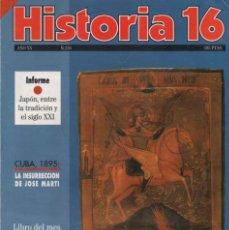 Coleccionismo de Revista Historia 16: HISTORIA 16 AÑO XX NUM. 226 FEBRERO 1995. Lote 202610416