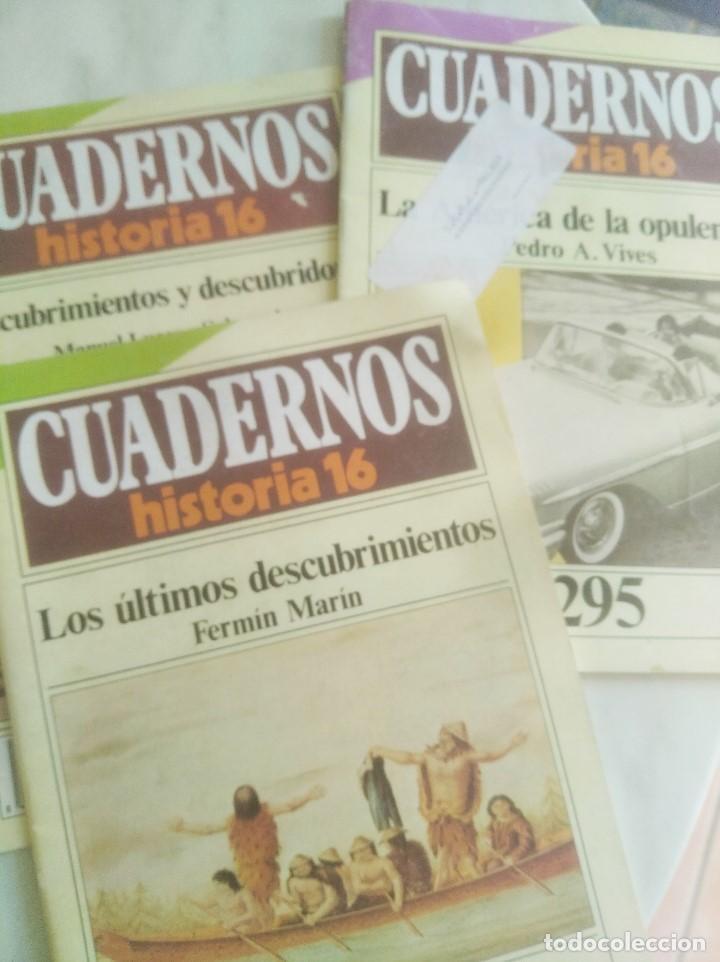CUADERNOS DE HISTORIA 16. Nº 139, 263, 295. (Coleccionismo - Revistas y Periódicos Modernos (a partir de 1.940) - Revista Historia 16)