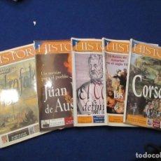 Coleccionismo de Revista Historia 16: HISTORIA 16 LOTE 5 REVISTAS AÑO XXVI. Lote 203907198