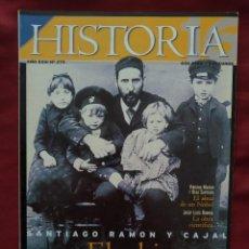 Coleccionismo de Revista Historia 16: HISTORIA 16 - AÑO XXIII - Nº 279 - JULIO 1999. SANTIAGO RAMÓN Y CAJAL. EL SABIO DEL 98.. Lote 204175236