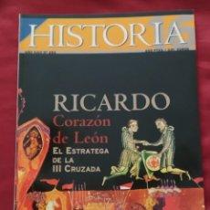 Coleccionismo de Revista Historia 16: HISTORIA 16 - AÑO XXIII - Nº 283 - NOVIEMBRE 1999. RICARDO CORAZÓN DE LEÓN.. Lote 204189863