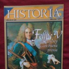 Coleccionismo de Revista Historia 16: HISTORIA 16 - AÑO XXV - Nº 300 - ABRIL 2001. FELIPE V, UN REY CON BUENA PRENSA.. Lote 204194071