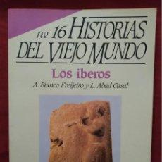 Coleccionismo de Revista Historia 16: HISTORIA 16 - HISTORIAS DEL VIEJO MUNDO Nº 16 - LOS IBEROS. Lote 204273403