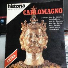 Coleccionismo de Revista Historia 16: REVISTA HISTORIA 16 NÚMERO 139 CARLOMAGNO , NÚMERO EXTRA, PERFECTO ESTADO. Lote 204622107