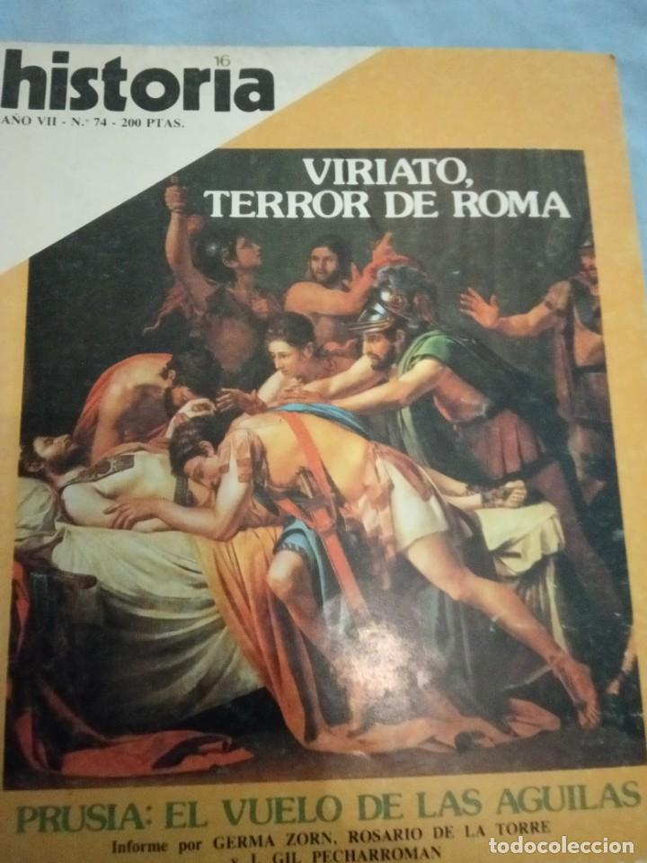 HISTORIA 16 NÚMERO 74 VIRIATO TERROR DE ROMA (Coleccionismo - Revistas y Periódicos Modernos (a partir de 1.940) - Revista Historia 16)