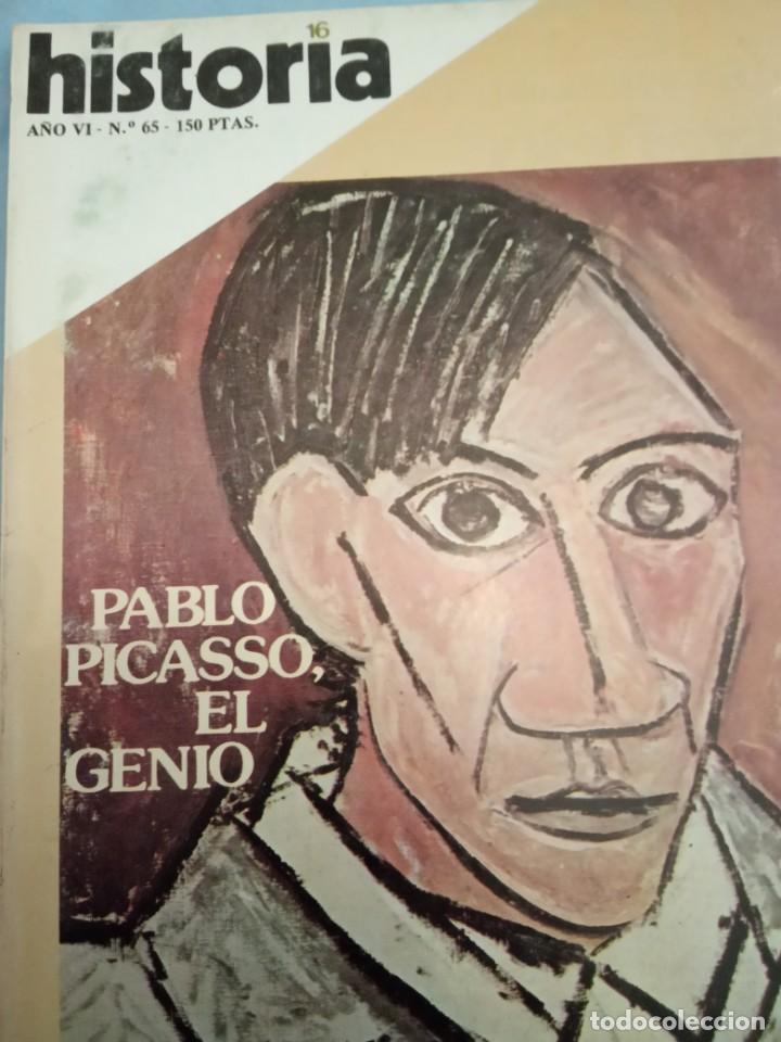 HISTORIA 16 NÚMERO 65 PABLO PICASSO EL GENIO (Coleccionismo - Revistas y Periódicos Modernos (a partir de 1.940) - Revista Historia 16)