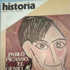 Coleccionismo de Revista Historia 16: HISTORIA 16 NÚMERO 65 PABLO PICASSO EL GENIO. Lote 206193713