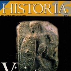 Coleccionismo de Revista Historia 16: REVISTA HISTORIA Nº 329: VIRIATO / MOCTEZUMA II / CHILE, 1973: LA DINA. PINOCHET / EDUARDO ROSALES. Lote 206301747