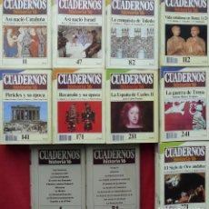 Coleccionismo de Revista Historia 16: COLECCIÓN COMPLETA DE CUADERNOS DE HISTORIA 16 (300 CUADERNOS). Lote 206808261