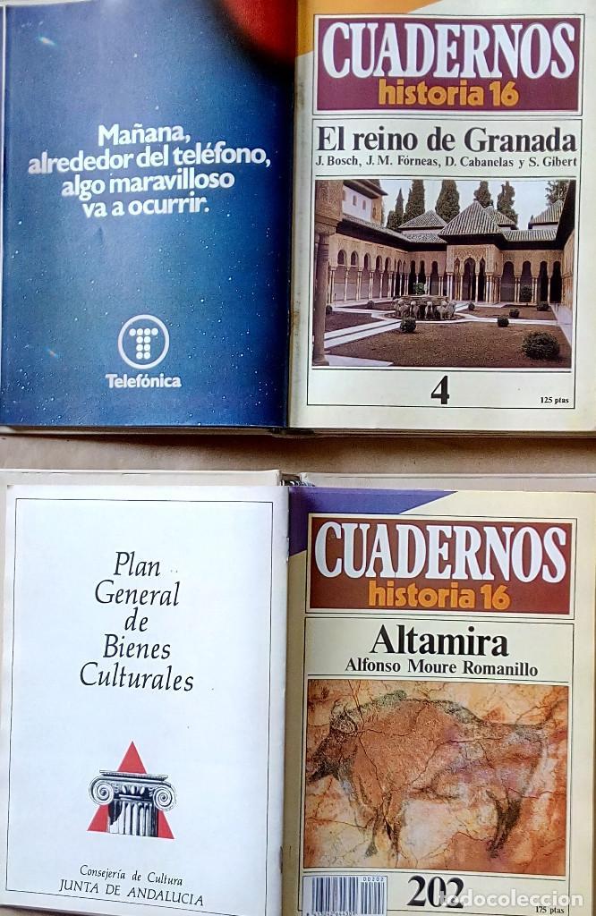 Coleccionismo de Revista Historia 16: COLECCIÓN COMPLETA DE CUADERNOS DE HISTORIA 16 (300 CUADERNOS) - Foto 4 - 206808261