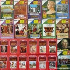 Coleccionismo de Revista Historia 16: BIBLIOTECA AMERICANA COMPLETA DE HISTORIA 16 (12 LIBROS) + 12 EJEMPLARES DE LA REVISTA HISTORIA 16. Lote 207002777