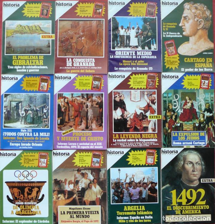 Coleccionismo de Revista Historia 16: BIBLIOTECA AMERICANA COMPLETA DE HISTORIA 16 (12 LIBROS) + 12 EJEMPLARES DE LA REVISTA HISTORIA 16 - Foto 2 - 207002777