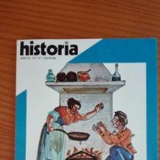 Coleccionismo de Revista Historia 16: HISTORIA 16 Nº 57 ENERO 1981 LA FAMILIA EN ESPAÑA S. XVI-XVIII PACTO UGT-CNT 1920 DJUDER PACHÁ. Lote 207514820