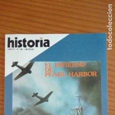 Coleccionismo de Revista Historia 16: HISTORIA 16 Nº 68 DICIEMBRE 1981 PEARL HARBOUR INFORME: ANTONIO PÉREZ TORRIJOS, EL CONSPIRADOR. Lote 207517785