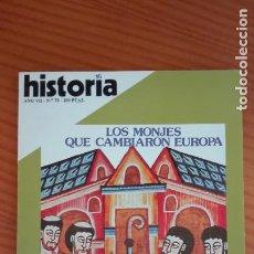 Coleccionismo de Revista Historia 16: HISTORIA 16 Nº 70 FEBRERO 1982 LOS ORÍGENES DEL MONACATO DERROTA INGLESA EN MENORCA 23-F: UN AÑO. Lote 207518341