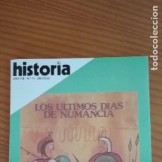 Coleccionismo de Revista Historia 16: HISTORIA 16 Nº 71 MARZO 1982 ÚLTIMOS DÍAS DE NUMANCIA DOBLE MUERTE DE JOSÉ DÍAZ REBELIÓN DEL MAHDI. Lote 207518535