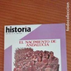 Coleccionismo de Revista Historia 16: HISTORIA 16 Nº 73 MAYO 1982 NACIMIENTO DE ANDALUCÍA AVENTURAS DE ALÍ BEY TESOROS DE VILLENA. Lote 207519661
