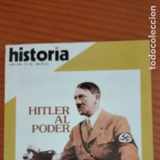 Coleccionismo de Revista Historia 16: HISTORIA 16 Nº 81 ENERO 1983 HITLER AL PODER TRAFICANTES EN CUBA S. XIX FELIPE IV MILITAR FRUSTRADO. Lote 207632688