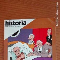 Coleccionismo de Revista Historia 16: HISTORIA 16 Nº 82 FEBRERO 1983 CASA VIEJAS ROOSEVELT Y EL NEW DEAL ESPARTA, SOCIEDAD GUERRERA. Lote 207632941