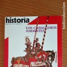 Coleccionismo de Revista Historia 16: HISTORIA 16 Nº 83 MARZO 1983 LOS CABALLEROS ANDANTES MARX, CIEN AÑOS FRANCO ENCADENADO A BERLÍN. Lote 207633085