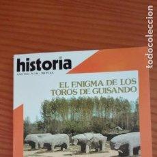 Coleccionismo de Revista Historia 16: HISTORIA 16 Nº 86 JUNIO 1983 LOS TOROS DE GUISANDO CERVANTES Y LA CENSURA EL NACIMIENTO DE ISRAEL. Lote 207635047
