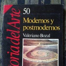 Colecionismo da Revista Historia 16: MODERNOS Y POSTMODERNOS - HISTORIA DEL ARTE 50. Lote 208164838