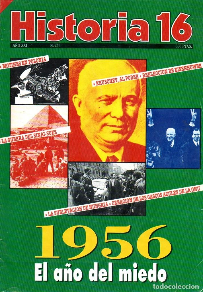 HISTORIA 16 AÑO XXI NUM. 246 OCTUBRE 1996 (Coleccionismo - Revistas y Periódicos Modernos (a partir de 1.940) - Revista Historia 16)