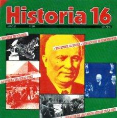 Coleccionismo de Revista Historia 16: HISTORIA 16 AÑO XXI NUM. 246 OCTUBRE 1996. Lote 208851430