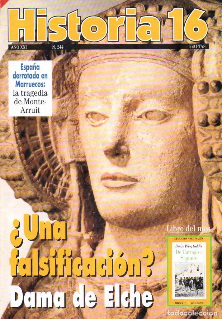 HISTORIA 16 AÑO XXI NUM. 244 AGOSTO 1996 (Coleccionismo - Revistas y Periódicos Modernos (a partir de 1.940) - Revista Historia 16)