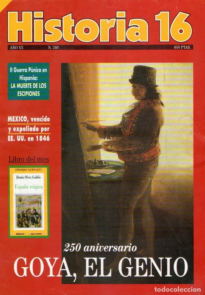 HISTORIA 16 AÑO XX NUM. 240 ABRIL 1996 (Coleccionismo - Revistas y Periódicos Modernos (a partir de 1.940) - Revista Historia 16)