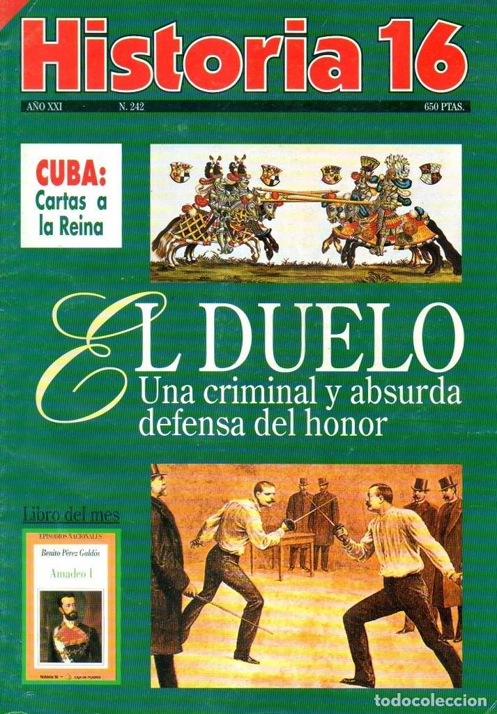 HISTORIA 16 AÑO XXI NUM. 242 JUNIO 1996 (Coleccionismo - Revistas y Periódicos Modernos (a partir de 1.940) - Revista Historia 16)