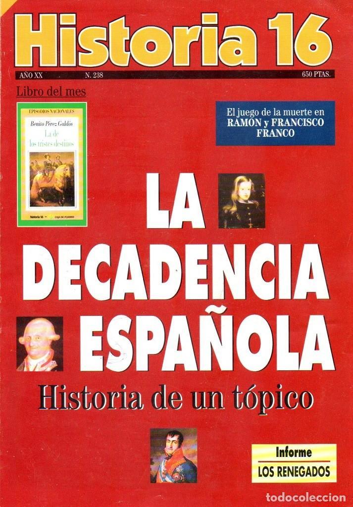 HISTORIA 16 AÑO XX NUM. 238 FEBRERO 1996 (Coleccionismo - Revistas y Periódicos Modernos (a partir de 1.940) - Revista Historia 16)