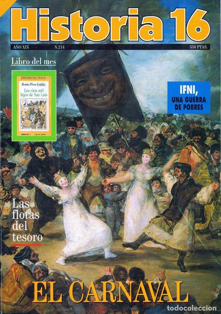 HISTORIA 16 AÑO XIX NUM. 214 FEBRERO 1994 (Coleccionismo - Revistas y Periódicos Modernos (a partir de 1.940) - Revista Historia 16)