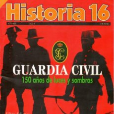 Coleccionismo de Revista Historia 16: HISTORIA 16 AÑO XIX NUM. 218 JUNIO 1994. Lote 208892992