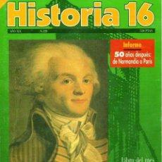 Coleccionismo de Revista Historia 16: HISTORIA 16 AÑO XIX NUM. 220 AGOSTO 1994. Lote 208893857