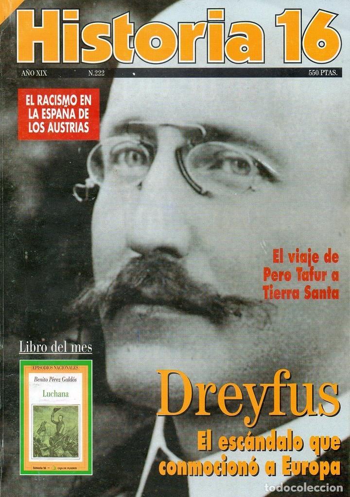 HISTORIA 16 AÑO XIX NUM. 222 OCTUBRE 1994 (Coleccionismo - Revistas y Periódicos Modernos (a partir de 1.940) - Revista Historia 16)