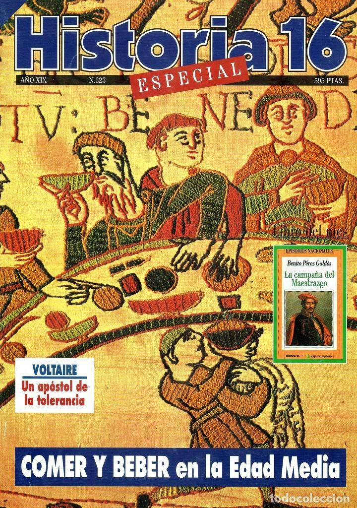 HISTORIA 16 AÑO XIX NUM. 223 NOVIEMBRE 1994 (Coleccionismo - Revistas y Periódicos Modernos (a partir de 1.940) - Revista Historia 16)