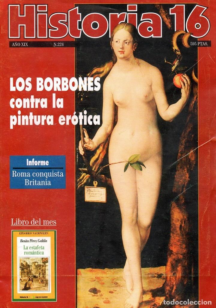 HISTORIA 16 AÑO XIX NUM. 224 DICIEMBRE 1994 (Coleccionismo - Revistas y Periódicos Modernos (a partir de 1.940) - Revista Historia 16)