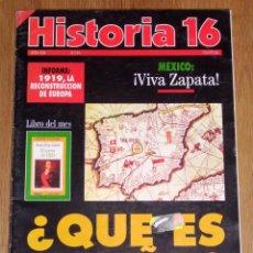 Coleccionismo de Revista Historia 16: HISTORIA 16. AÑO XIX ; Nº 215 ; MARZO 1994 : ¿QUÉ ES ESPAÑA?: LO QUE SE PENSABA EN LA EDAD MEDIA. Lote 209871836