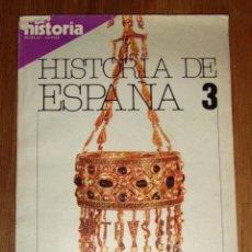 Coleccionismo de Revista Historia 16: HISTORIA 16. HISTORIA DE ESPAÑA 3 : LA ALTA EDAD MEDIA. AÑO V ; EXTRA XV ; OCTUBRE 1980. Lote 209872073