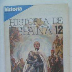 Coleccionismo de Revista Historia 16: HISTORIA 16 , EXTRA XXIV HISTORIA DE ESPAÑA Nº 12: ESPAÑA DE LA CRUZADA, GUERRA CIVIL Y FRANQUISMO. Lote 209875152