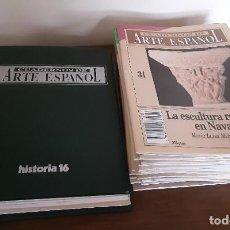 Coleccionismo de Revista Historia 16: CUADERNOS DE ARTE ESPAÑOL - HISTORIA 16. DEL NR. 1 AL 31. IMPECABLES. Lote 210576686